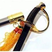 Espada Napoleão Bonaparte: Metálica Decorativa