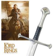 Espada The Lord of The Rings (O Senhor dos Anéis): King Elessar Anduril Réplica
