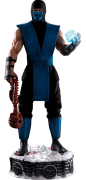 Estátua Sub-Zero: Mortal Kombat Klassic (Escala 1/3) Exclusivo - Pop Culture Shock