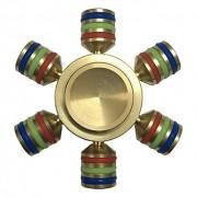Hand Spinner Personalizado de Ferro - Rolamento Anti Estresse Fidget Hand Spinner