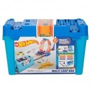 Hot Wheels Track Builder System: Kit de Loopings - Mattel