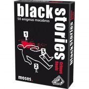 Jogo de Cartas (Board Games - Boardgames) Black Stories Crimes Reais - Galápagos Jogos