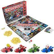 Jogo de Tabuleiro Monopoly: Mario Kart - USAopoly
