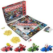 Jogo de Tabuleiro Monopoly: Mario Kart - USAopoly (Apenas Venda Online)