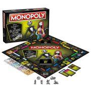 Jogo de Tabuleiro Monopoly: O Estranho Mundo de Jack (The Nightmare Before Christmas) 25th Anniversary - USAopoly