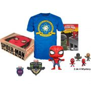 Kit Exclusivo Pop! Funko Collector Corps Marvel: Homem-Aranha De Volta ao Lar (Spider-Man Homecoming) - Funko