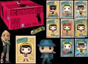 Kit Exclusivo Pop! Funko Deluxe Collector Box: DC Bombshells - Funko