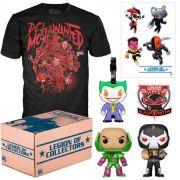 Kit Exclusivo Pop! Funko: Legion of Collectors: DC Most Wanted - Funko