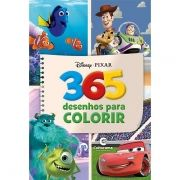 Livro 365 Desenhos: Disney Pixar