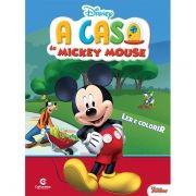 Livro Ler e Colorir A Casa do Mickey Mouse: Disney - (Grande)