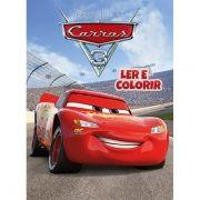 Livro Ler e Colorir Carros 3: Pixar - (Médio)
