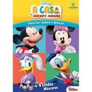 Livro Máscaras Divertidas A Casa do Mickey Mouse: Disney - (Grande)