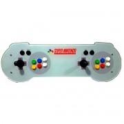 Máquina Fliperama (Controle Duplo Arcade) com desenho do Controle do Super Nintendo