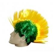 Peruca Moicano (Verde e Amarela): Copa do Mundo