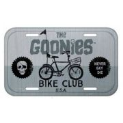 Placa De Carro Decorativa The Goonies: Bike Club - Urban