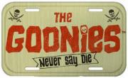 Placa De Carro Decorativa The Goonies (Never Say Die) - Urban