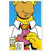 Placa Decorativa: Homer Simpson