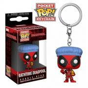 Pocket Pop Keychains (Chaveiro) Bathtime Deadpool: Deadpool (Marvel) - Funko