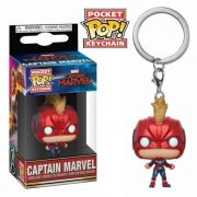 Pocket Pop Keychains (Chaveiro) Capitã Marvel (Captain Marvel) - Funko