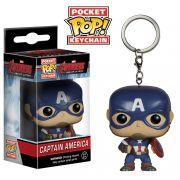 Pocket Pop Keychains (Chaveiro) Capitão América (Captain America): Vingadores: Era de Ultron (Age of Ultron) - Funko