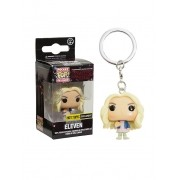 Pocket Pop Keychains (Chaveiro) Eleven Loira (Wig): Stranger Things - Funko