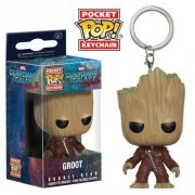 Pocket Pop Keychains (Chaveiro) Groot: Guardiões da Galáxia Vol.2 - Funko