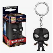 Pocket Pop Keychains (Chaveiro) Homem-Aranha (Spider-Man Stealth Suit): Homem-Aranha Longe de Casa Homem-Aranha Longe de Casa (Far From Home) - Funko (Apenas Venda Online)