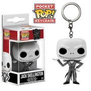 Pocket Pop Keychains (Chaveiro) Jack Skellington: O Estranho Mundo de Jack (The Nightmare Before Christmas) - Funko