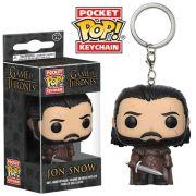 Pocket Pop Keychains (Chaveiro) Jon Snow: Game of Thrones - Funko (Apenas Venda Online)