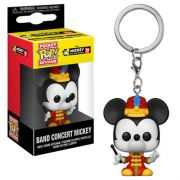 Pocket Pop Keychains (Chaveiro) Mickey (Band Concert): Mickey The True Original 90 Years - Funko (Apenas Venda Online)