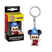 Pocket Pop Keychains (Chaveiro) Mickey (Sorcerer): Mickey The True Original 90 Years - Funko