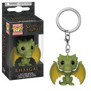 Pocket Pop Keychains (Chaveiro) Rhaegal: Game of Thrones - Funko (Apenas Venda Online)