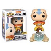 Pop! Aang (On Airscooter): Avatar O Último Mestre do Ar (The  Last Airbender) Exclusivo #541 - Funko