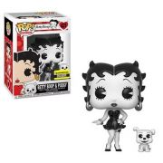 Pop! Betty Boop & Pudgy (B&W): Betty Boop (Exclusivo) #421 - Funko