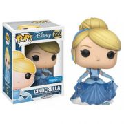 Pop! Cinderela (Glitter): Disney #222 (Exclusivo)