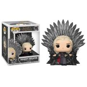 Pop! Daenerys Targaryen (on Iron Throne): Game of Thrones #75 - Funko (Apenas Venda Online)