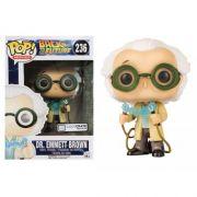 Pop! Dr. Emmett Brown: De Volta Para o Futuro (Back To The Future) (Exclusivo) #236 - Funko