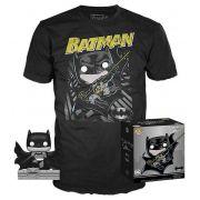 Pop! e Camiseta Batman (Hush): DC Collection Jim Lee (Exclusivo) #239 - Funko