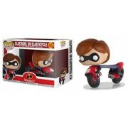 Pop! Elastigirl on Elasticycle: Os Incríveis 2 #45 - Funko