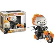 Pop! Ghost Rider: (Exclusivo) #33 - Funko