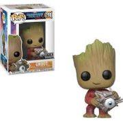 Pop! Groot (Fye Exclusive): Guardiões da Galaxia 2 (Guardians of Galaxy 2) #280 - Funko