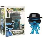 Pop! Heisenberg (Blue Crystal): Breaking Bad Exclusivo (Raro) #162 - Funko