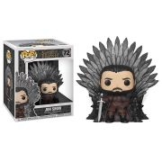 Pop! Jon Snow (on Iron Throne): Game of Thrones #72 - Funko (Apenas Venda Online)