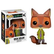 Pop Nick Wilde: Disney Zootopia #186 - Funko