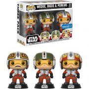 Pop! Pack Pilot X-Wing Biggs, Wedge & Porkins : Star Wars (Exclusivo) #3 -Funko