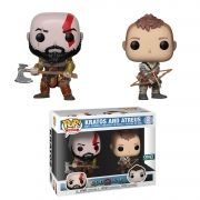 Pop! Pack Kratos And Atreus: God Of War (Exclusivo) #02 - Funko