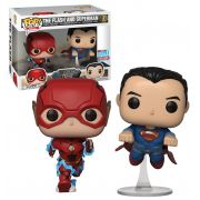 Pop! Pack The Flash and Superman: Liga da Justiça (Justice League) (NYCC 2018 Exclusivo) #02 - Funko