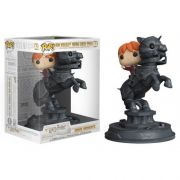 Pop! Ron Weasley (Riding Chess Piece): Harry Potter (Movie Moments) Exclusivo #82 - Funko (Apenas Venda Online)