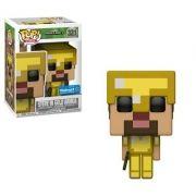 Pop! Steve In Gold Armor: Minecraft (Exclusivo) #321 - Funko Black Friday (Apenas Venda Online)