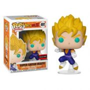 Pop! Super Saiyan Vegito: Dragonball Z (Exclusivo) #491 - Funko